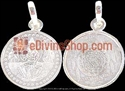 Picture of Sri Yantra Pendant in Silver for Wealth , Goodluck and Prosperity