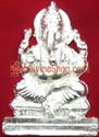 Picture of PARAD(MERCURY) LORD GANESHA IDOL. WEIGHT 50-70 GMS