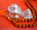 Picture of FREE GIFTS WORTH RS 1900/- WITH PARAD SHIVLINGA OF 500-550 GMS(APPROX.), MUST FOR EVERY HOUSEHOLD.