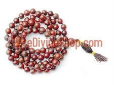 Picture of Bloodstone Mala to Bring Strength of Mind &