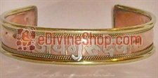 Picture of Jai Gurudev Healing Bracelet - Made From Copper and Brass
