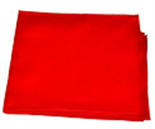 Picture of Red Pooja Cloth