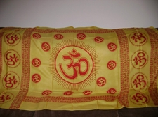 Picture of OM Altar Cloth or Prayer Shawl