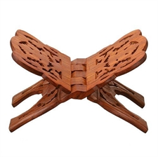 Picture of Book Stand Rihal Rehal Wooden Carved