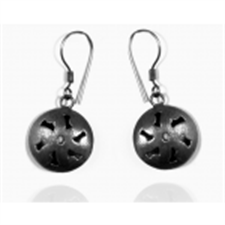 Picture of Ethnic's Black Rhodium Fashion Earring ER20