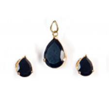 Picture of Ethnic's Black Stone 3 Piece Set SPS07