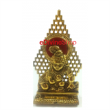 Picture of Hindu God Idols Gold Plated Krishna