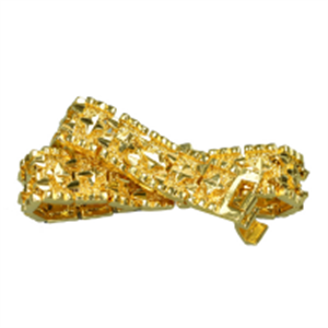 Picture of ALPHAMAN Goldz Collection Delicately Fused Bracelet for men with a clasp