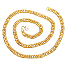 Picture of ALPHAMAN Thick, luxurious, yet elegant workmanship crafted into classic gold chain for Men
