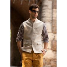 Picture of Mens Sleeveless Wool Coat