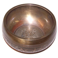 Picture of Large Ganesh Singing Bowl ~ Appr 100mm