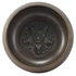 Picture of Brown Five Buddha Engraved Handmade Tibetan Singing Bowl, Rin Gong, Himalayan 6.5 Inches