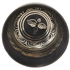 Picture of Black And Gold Straight Sides Handmade Tibetan Singing Bowl, Rin Gong, Himalayan 5 Inches