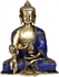 Picture of The Medicine Buddha (Inlay Statue) - Brass Statue with Inlay