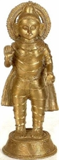 Picture of Tribal Buddha - Brass Statue