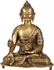 Picture of The Medicine Buddha (Robes Decorated with Lotus Flowers) - Brass Statue